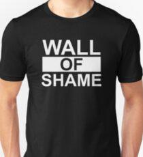 Wall of Shame Unisex T-Shirt