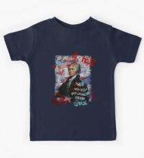 Alexander Hamilton. Those who stand for nothing fall for anything. Kids Tee