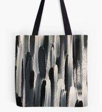 Monochrome Brushstroke  Tote Bag