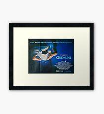 Gremlins Poster Framed Print