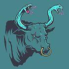 Bull By the Snakes by strangethingsA