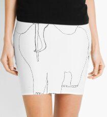 danimal's bestiary: elephant Mini Skirt