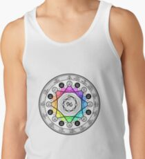 Nine Note Musical Scale Tank Top