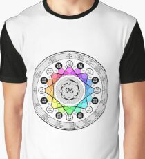 Nine Note Musical Scale Graphic T-Shirt