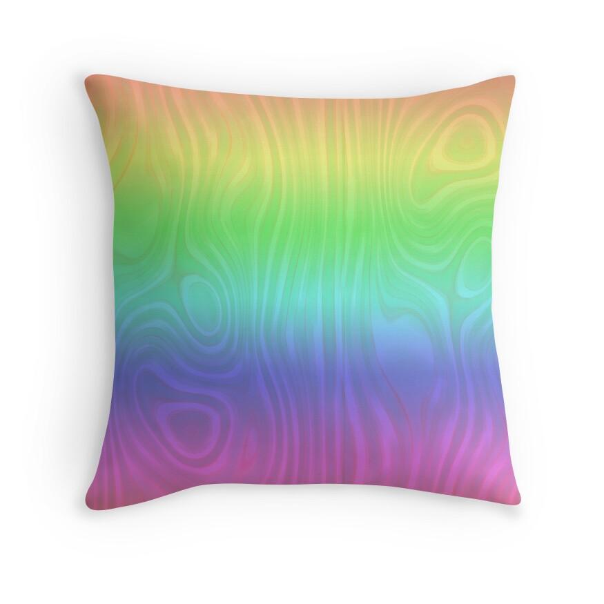 Groovy Pastel Rainbow