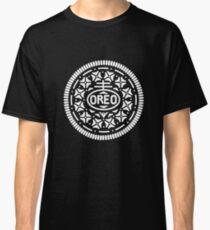 Oreo Cookie Symbol (White) Classic T-Shirt