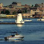 Guardian of the Harbor - Parlmer's Island Lighthouse!!!!! by Poete100