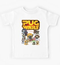 PUG WARS Kids T-Shirt