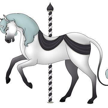 Unicorn Carousel by oscardarla