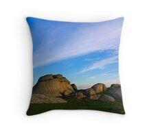 Dogrocks Morning Throw Pillow