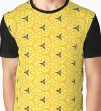 forms polygon design colorful colors pictures reason seamless repeat pattern Graphic T-Shirt
