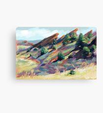 Red Rocks Park near Morrison, Colorado Canvas Print