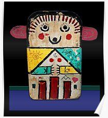 Ancient Kachina Doll Poster