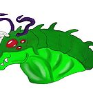 Lizard alien by Charnauk