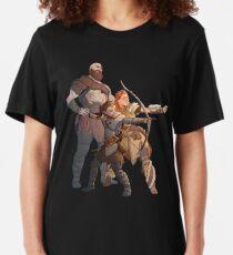 God Of War Horizon Zero Dawn Slim Fit T-Shirt