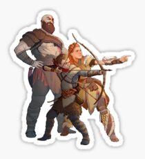 God Of War Horizon Zero Dawn Sticker