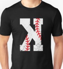 Baseball Pitcher Strikeout K Unisex T-Shirt