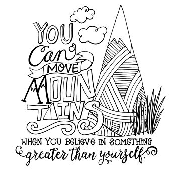 Move Mountains, Motivational  by carriestephens