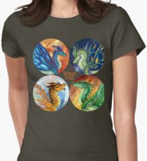 Wings of Fire - Heroes of the Lost Continent Women's Fitted T-Shirt