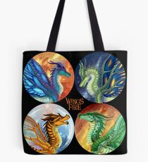 Wings of Fire - Heroes of the Lost Continent Tote Bag