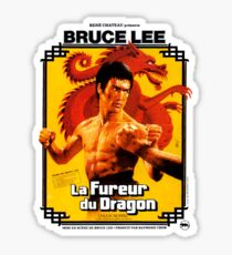 Way of the Dragon French Poster Sticker