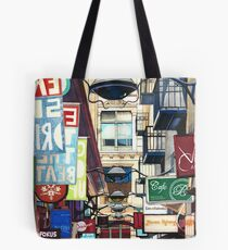 Melbourne Street Signs Tote Bag