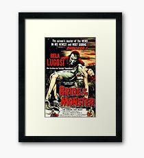 Bride of the Monster Framed Print