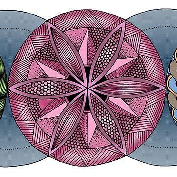 Triple Portal by MagicMama