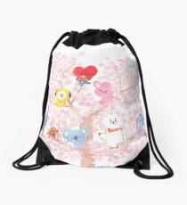 BT21 Cherry Tree Drawstring Bag