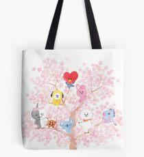 BT21 Cherry Tree Tote Bag