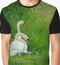 Swans Family  Graphic T-Shirt