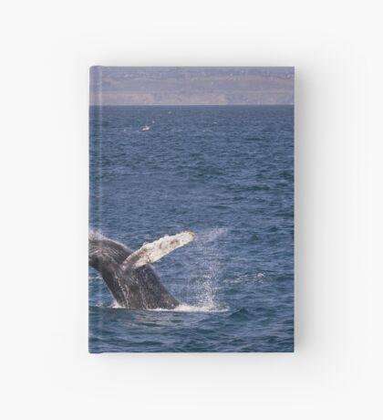 Durchbrechen des Buckelwals Notizbuch