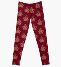 Barista Crest (darkt tees and hoodies) Leggings