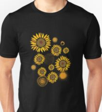 Beautiful Sun Flowers Unisex T-Shirt