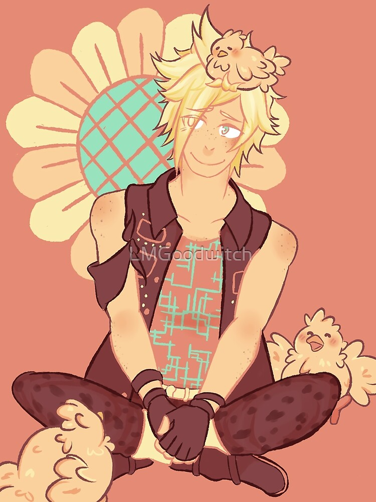 Sunflower Prompto by LMGoodwitch