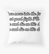 Serious Quote Throw Pillows Redbubble