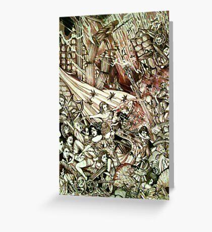 Symphony Of Terror ( Full Version ) Greeting Card