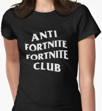 Anti Fortnite Fortnite Club Women's Fitted T-Shirt