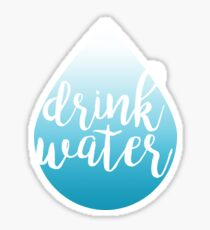 Water Drop - Drink Water Sticker