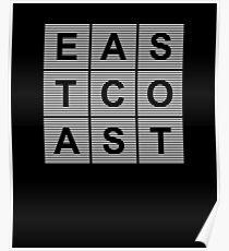 Póster East Coast
