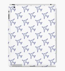 Seamless pattern with planes. iPad Case/Skin