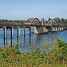 Siuslaw River Bridge by Bryan D. Spellman