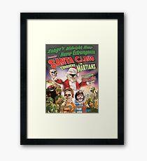 Zaago presents: Santa Clause Conquers the Martians Framed Print