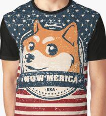 WOW 'MERICA Graphic T-Shirt