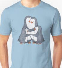 Penguins family. Hug Unisex T-Shirt