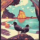 Cathedral Cove by Ross Murray