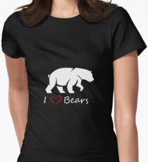 Love Bears Women's Fitted T-Shirt