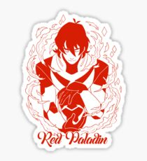 Red Paladin Sticker