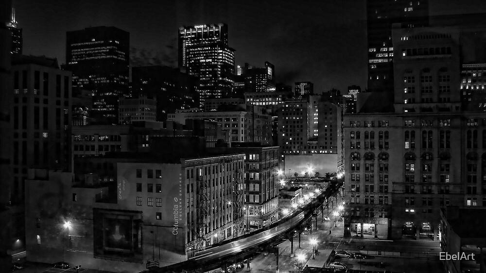 Night Life by EbelArt