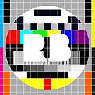 Device Case RB Test Print  by Redbubble Test Pattern